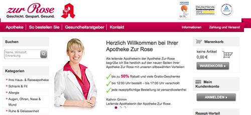 www.zurrose.de Test