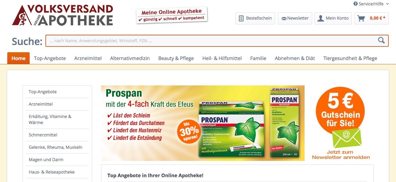 Zur Apotheke Volksversand.de