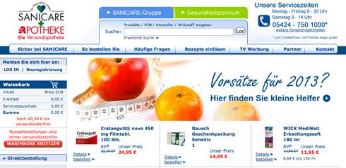 www.sanicare.de - Gutscheine und Erfahrungen