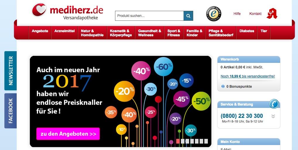 Zu Mediherz - www.mediherz.de