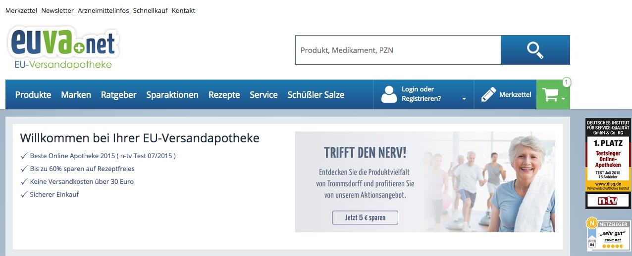 Zu Apotheke EuVa.net - www.eu-versandapotheke.de